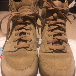 A.P.C. x Nike Dunk High Beige